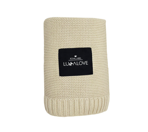 All Year Bamboo Blanket - Beige