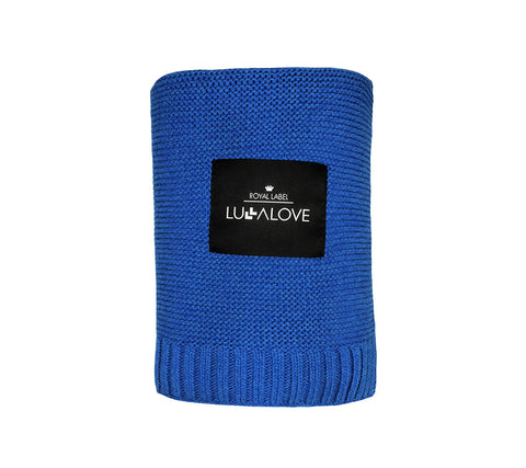 All Year Bamboo Blanket - Royal Blue