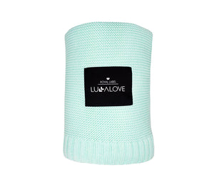All Year Bamboo Blanket - Mint