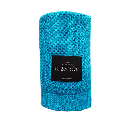 All Year Bamboo Blanket - Turquoise
