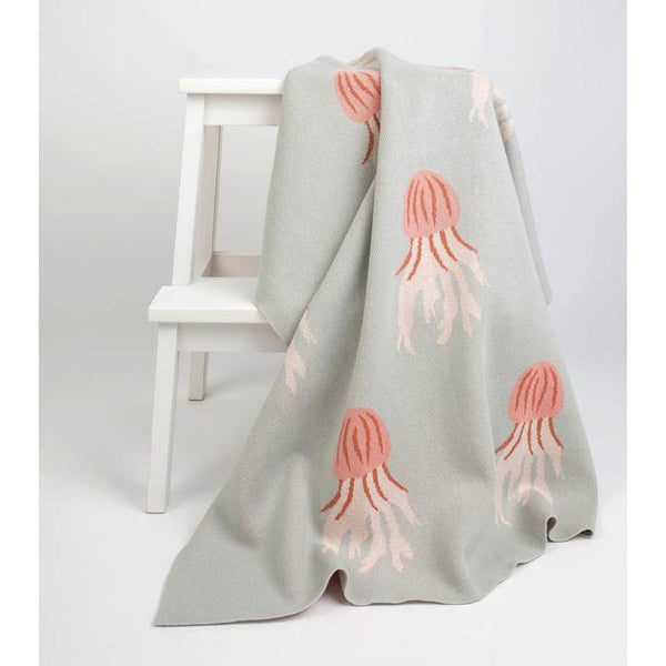 Milk & Honey Jellyfish Baby Blanket