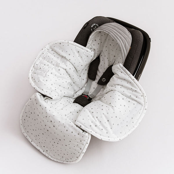 Car Seat Blanket - Grey