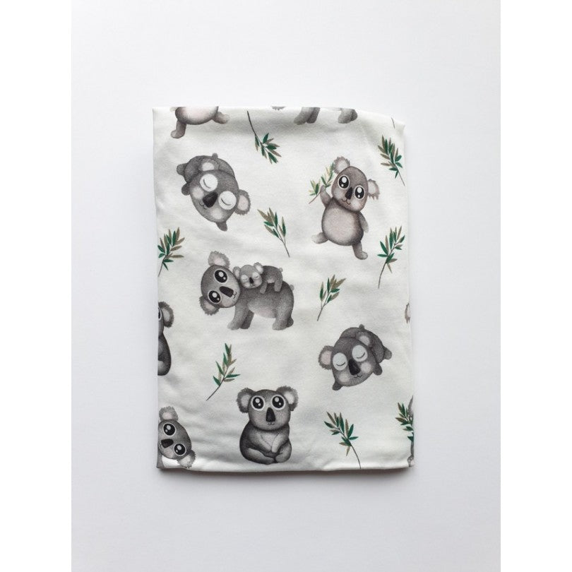 Cot bed fitted sheet - Koala (choice of 2 sizes)