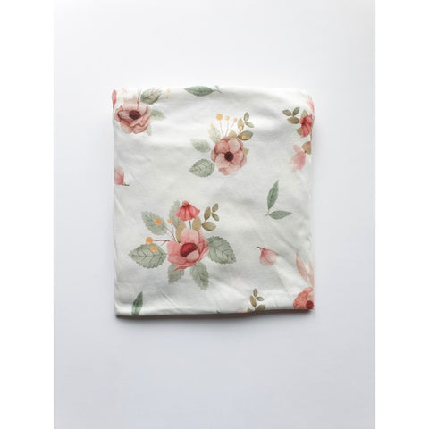 Cot bed fitted sheet - Flowers (choice of 2 sizes)