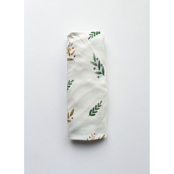 Cot bed fitted sheet - Autumn Leaves  (choice of 2 sizes)