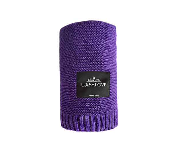 All Year Bamboo Blanket - Plum