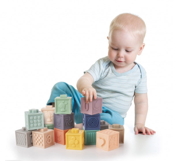 Soft Sensory Blocks (12pcs)