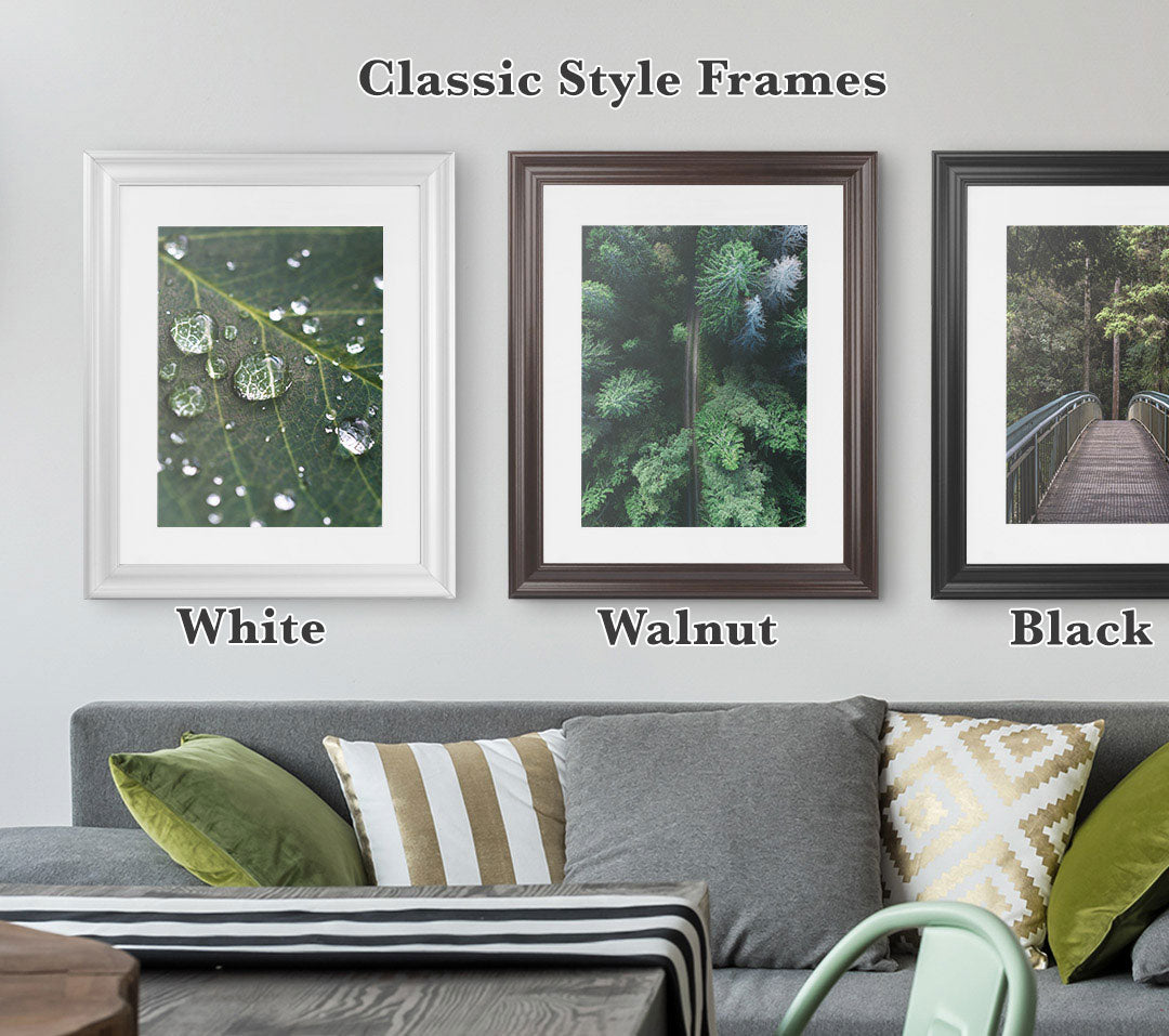 3 Classic Styles Frames