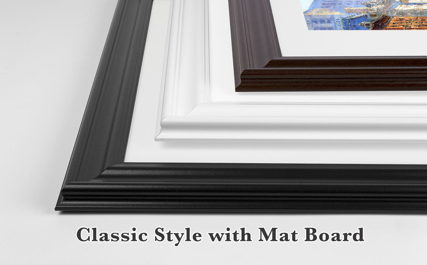 Classical Style with Mat Board