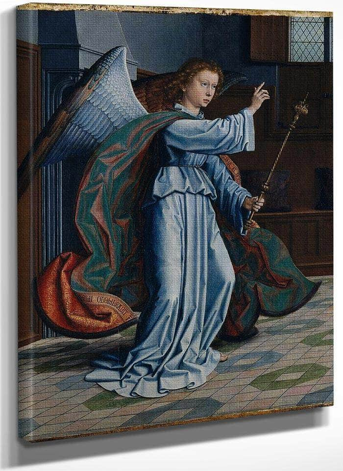 1 The Annunciation Gerard David By Gerard David
