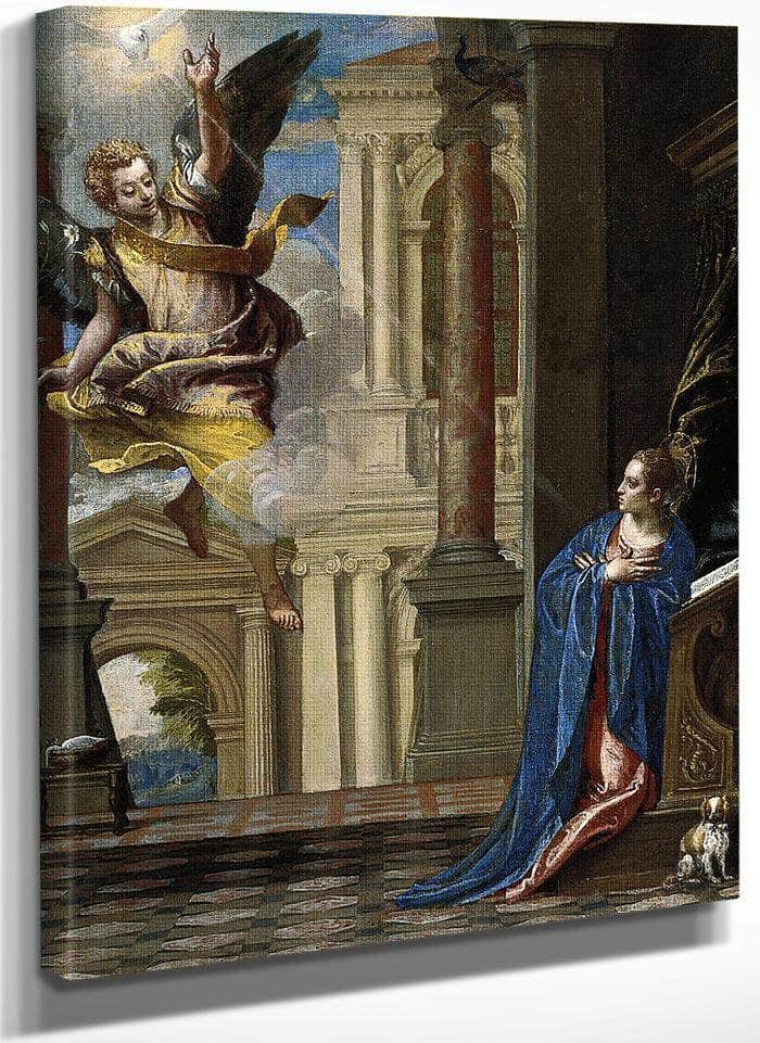 1 The Annunciation Paolo Veronese By Paolo Veronese