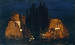 The Island Of The Dead By Arnold Bocklin