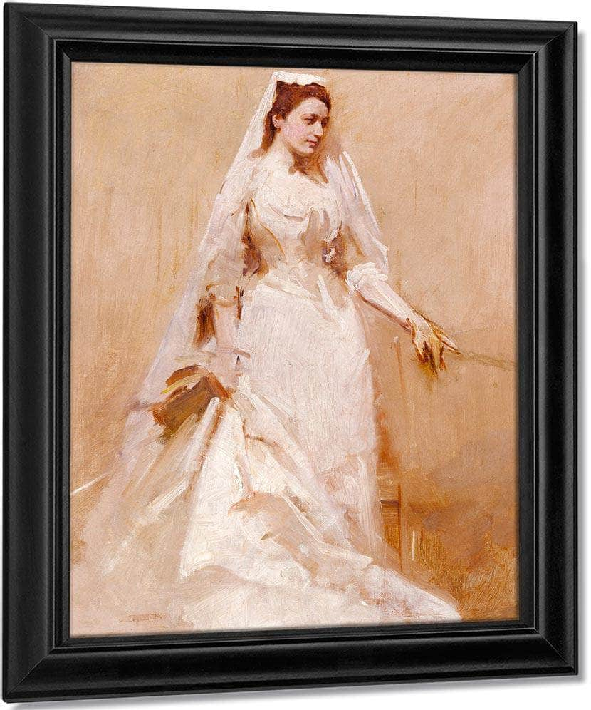 A Bride By Abbott Handerson Thayer
