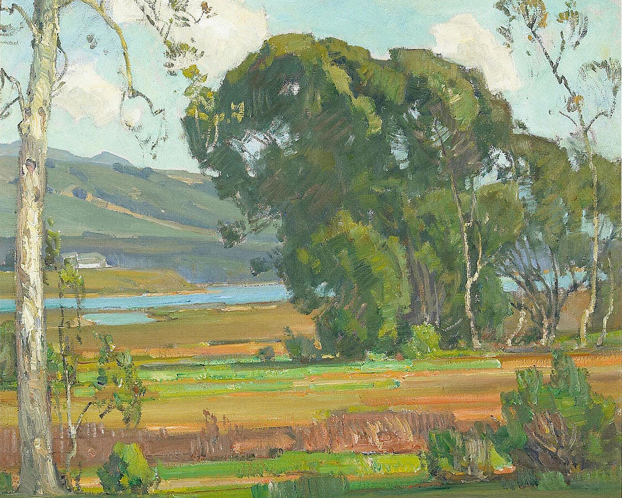 A California Inlet By William Wendt