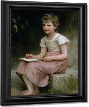 A Calling By Bouguereau Adolphe William