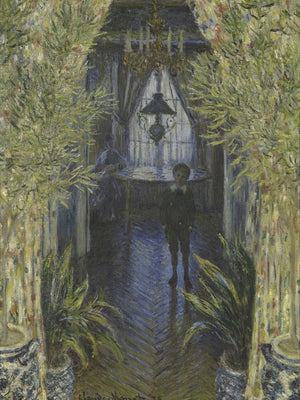 A Corner Of The Apartment 1 By Claude Monet