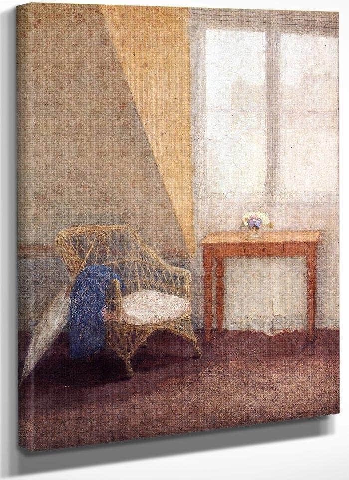 A Corner Of The Artist 1039 S Room Paris 1909 By Gwendolen Mary John