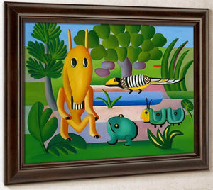 A Cuca By Tarsila Do Amaral