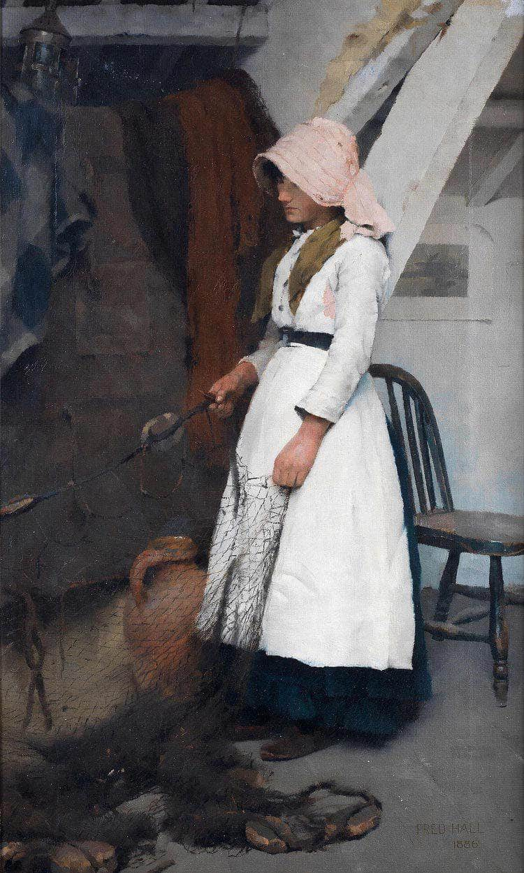 A Fisherman's Daughter By William Henry Walker