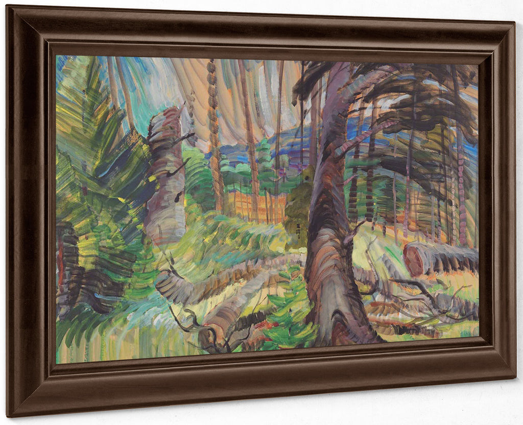 A Forest Clearing 1935 By Emily Carr