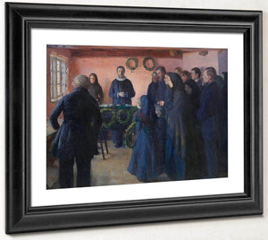 A Funeral 1891 By Anna Ancher