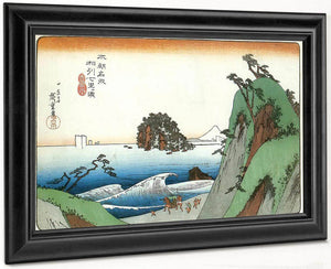 A Great Wave By The Coast By Hiroshige
