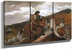 A Huntsman And Dogs By Winslow Homer