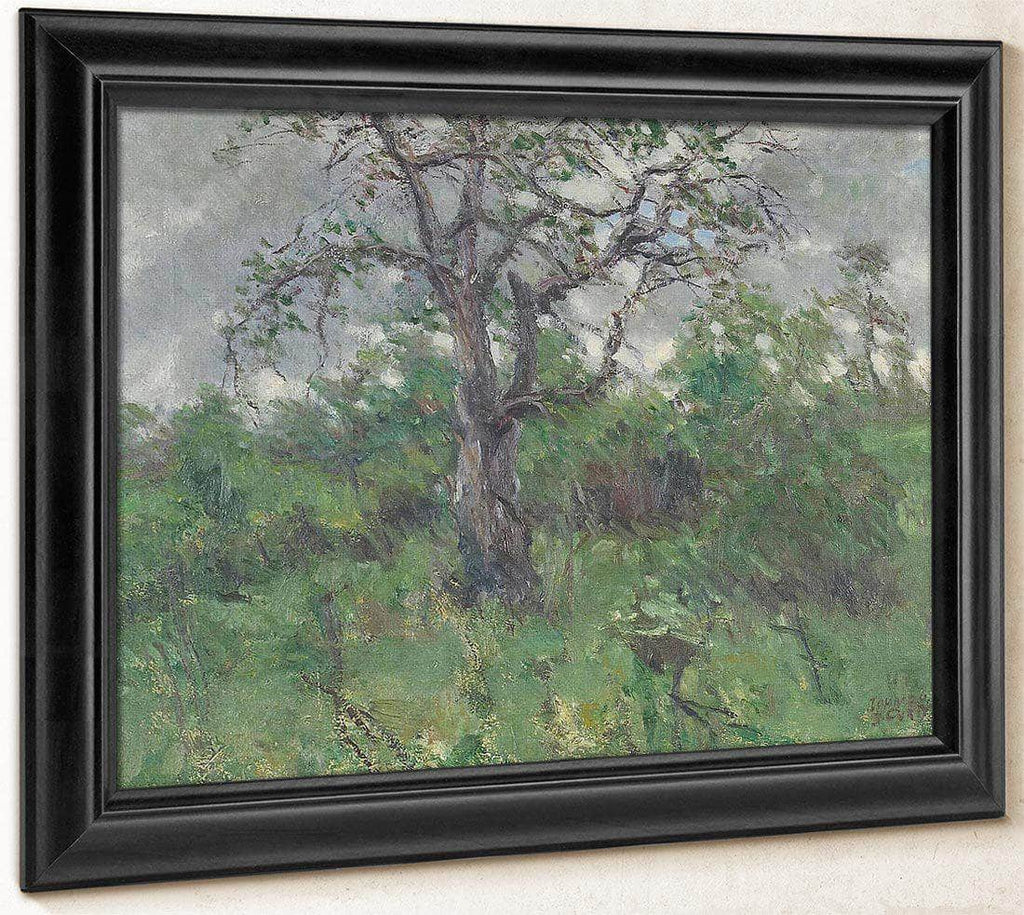 A Landscape With Tree, Spring By John Steuart Curry