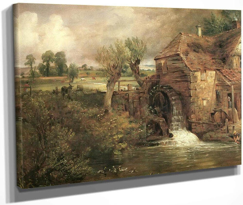 A Mill At Gillingham In Dorset By John Constable