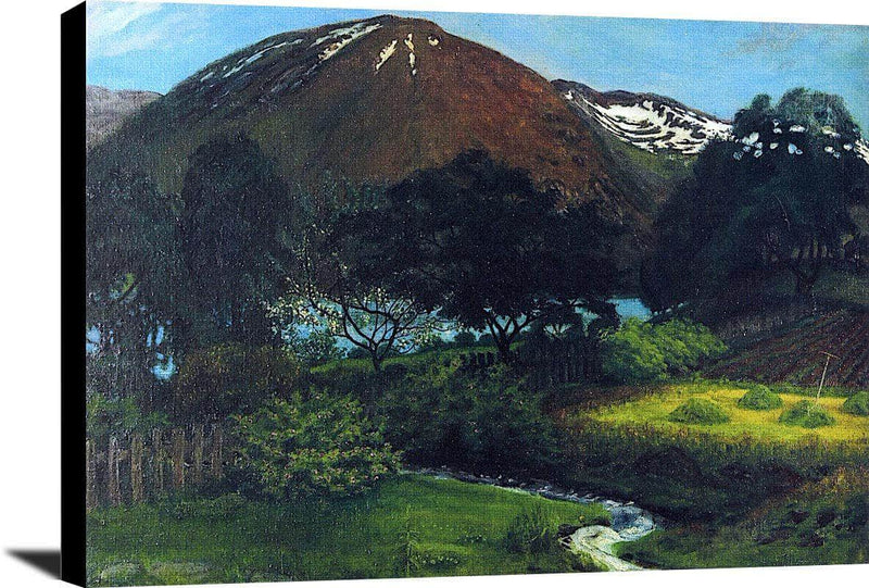 A Night In June In Jølster Nicolai Astrup