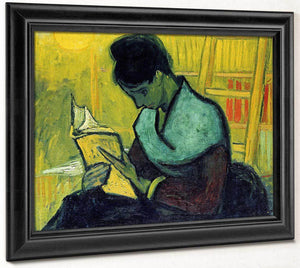 A Novel Reader By Vincent Van Gogh