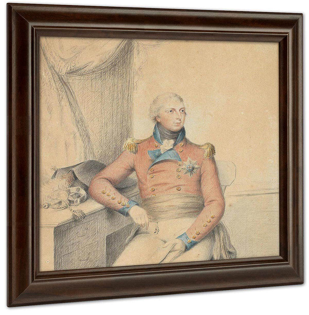 A Rare Work On Paper Portraying Prince William Frederick, Duke Of Gloucester And Edinburgh (1776–1834) By William Henry Walker