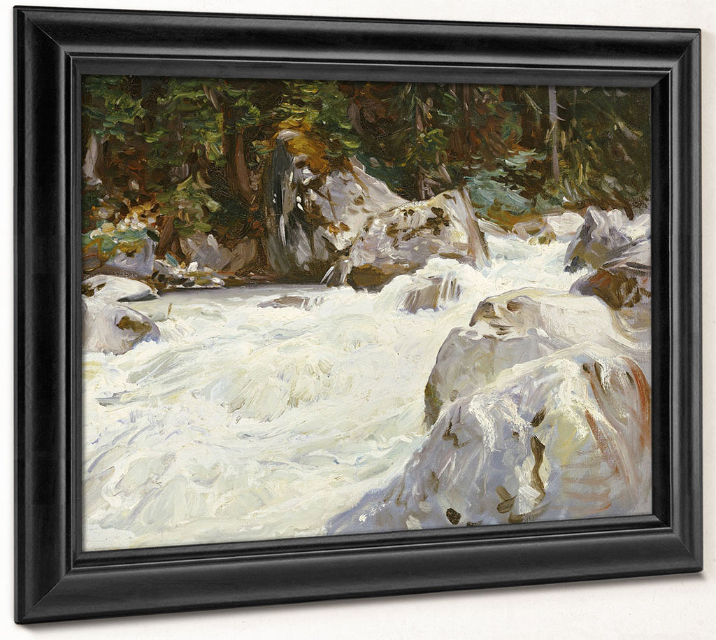 A Torrent In Norway By John Singer Sargent