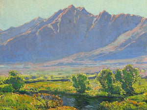A View Along The Owen's River By Edgar Payne