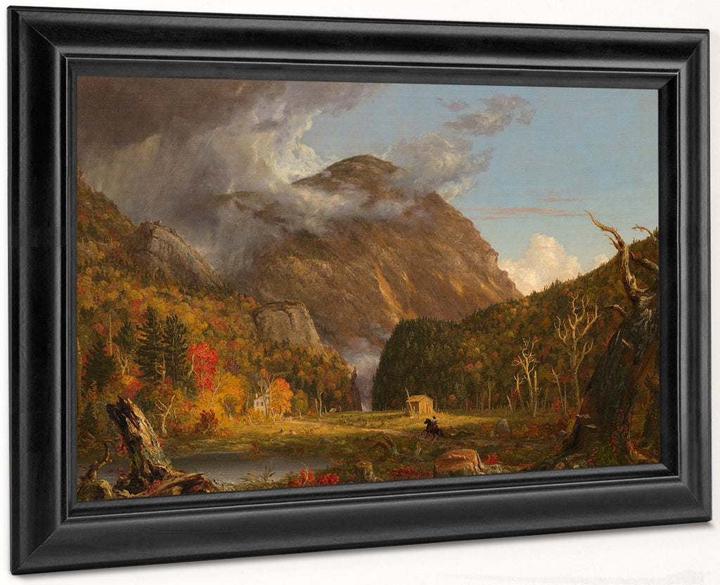 A View Of The Mountain Pass Called The Notch Of The White Mountains Crawford Notch 1839 By Thomas Cole