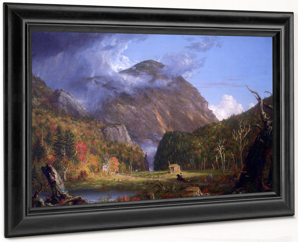 A View Of The Mountain Pass Called The Notch Of The White Mountains Crawford Notch 1839 By Thomas Cole By Thomas Cole