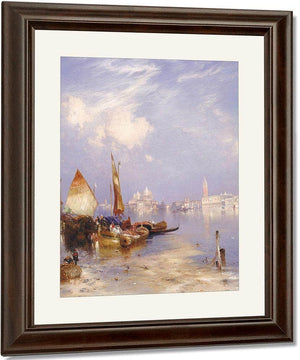A View Of Venice By Thomas Moran