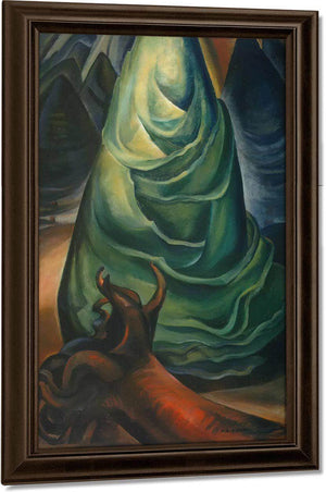 A Young By Tree By Emily Carr