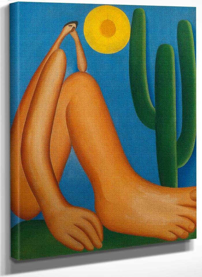 Abaporu By Tarsila Do Amaral