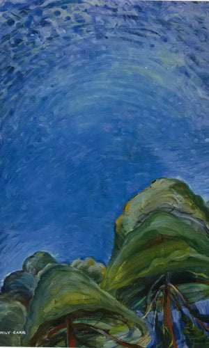 Above The By Trees By Emily Carr