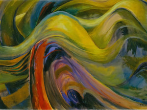 Abstract Tree Forms By Emily Carr
