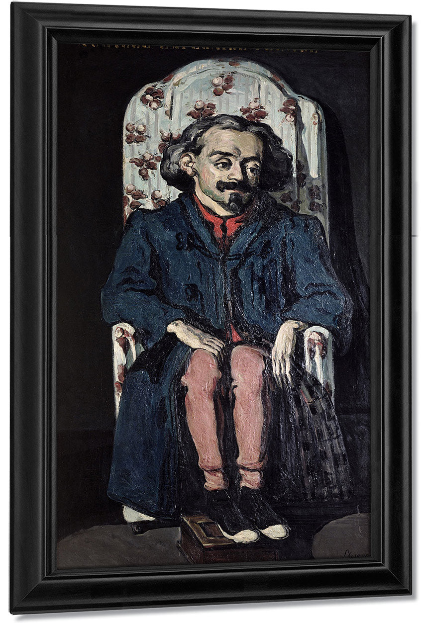 Achille Emperaire (1829 98) By Paul Cezanne