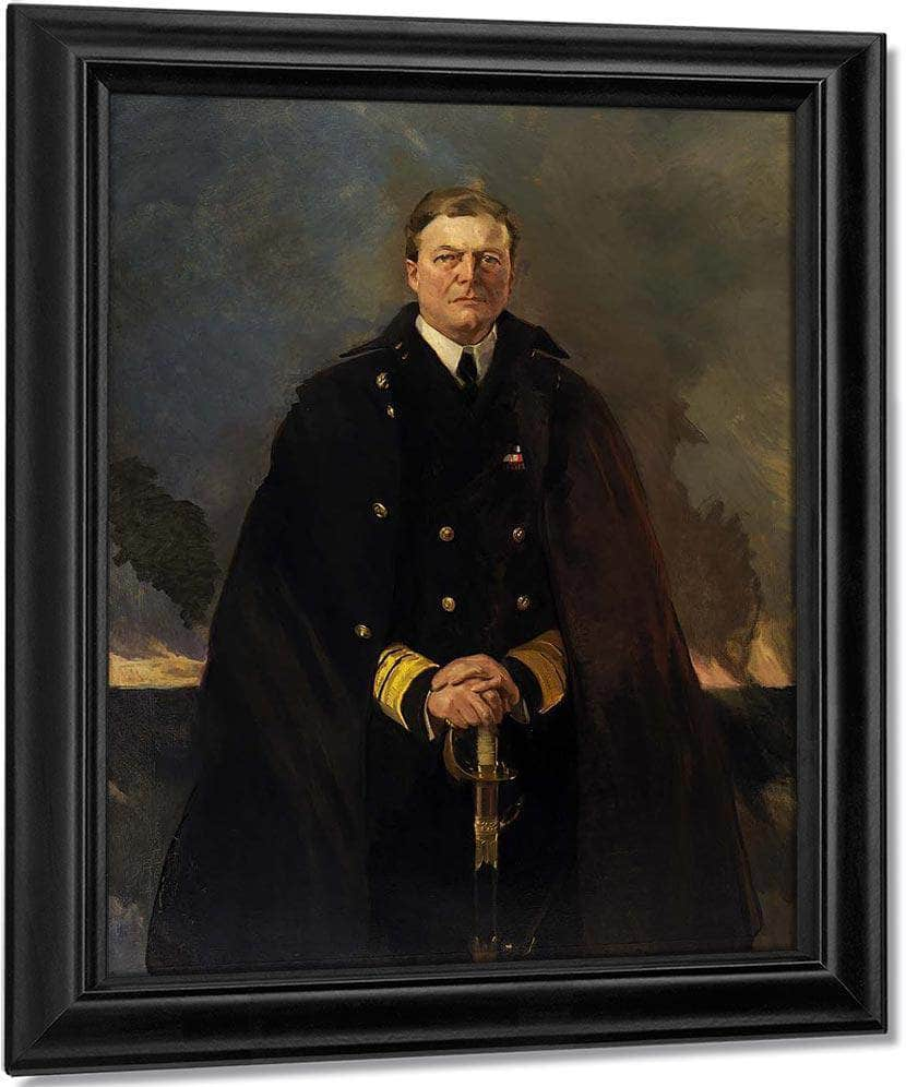 Admiral Sir David Beatty Lord Beatty 1920 By Cecilia Beaux
