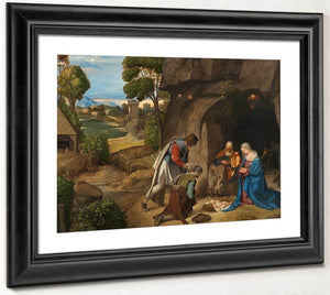 Adoration Of The Shepherds 1510 By Giorgione