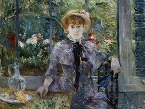 After Lunch By Berthe Morisot