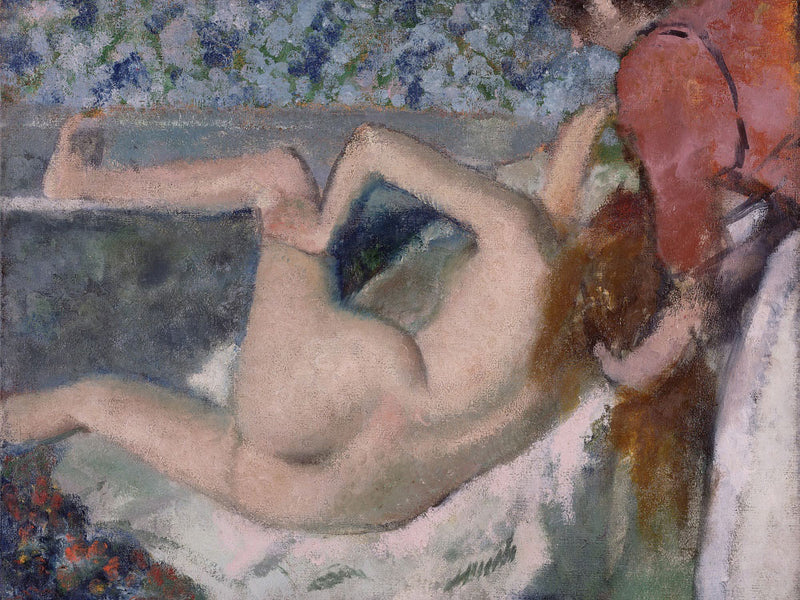 After The Bath 4 By Edgar Degas