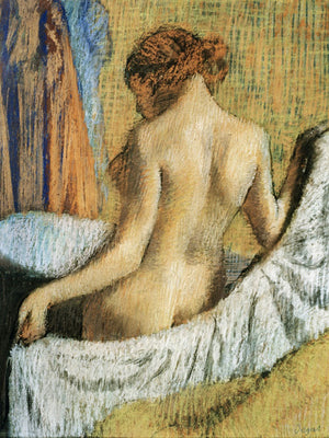 After The Bath 6 By Edgar Degas