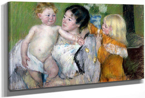 After The Bath By Cassatt Mary