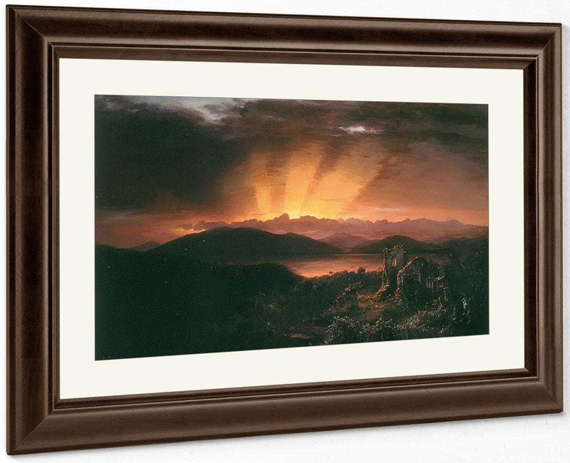 After The Glow By Frederic Edwin Church
