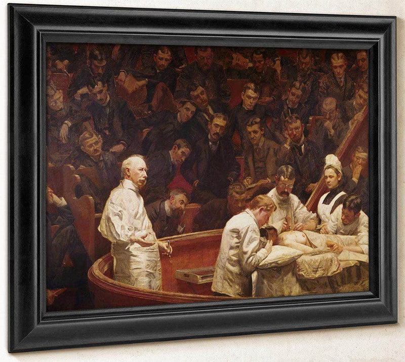 Agnew Clinic By Thomas Eakins